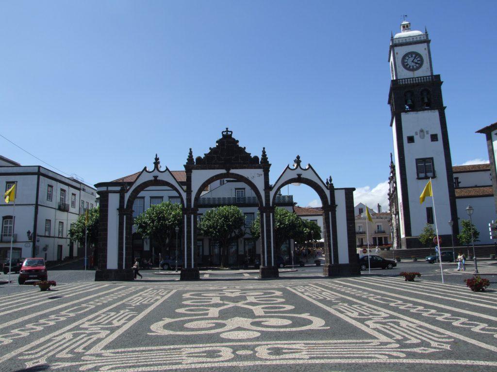 Azorai Ponta Delgada senamiestis