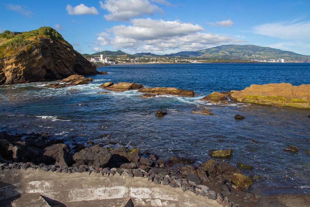 Azorai Ponta Delgada uolos