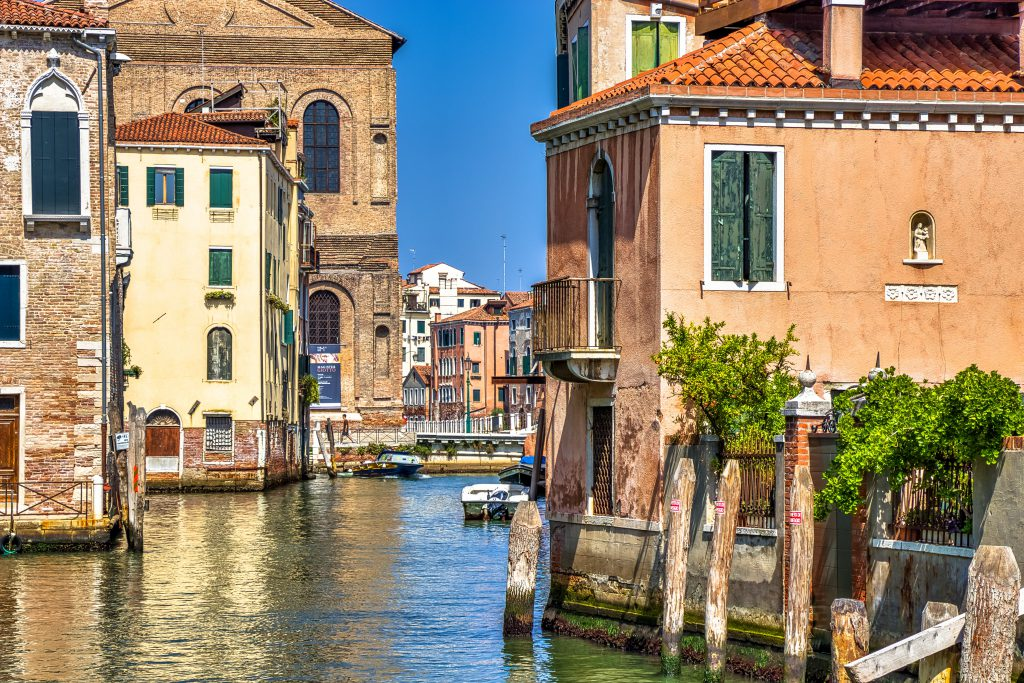 Venecija kanalai
