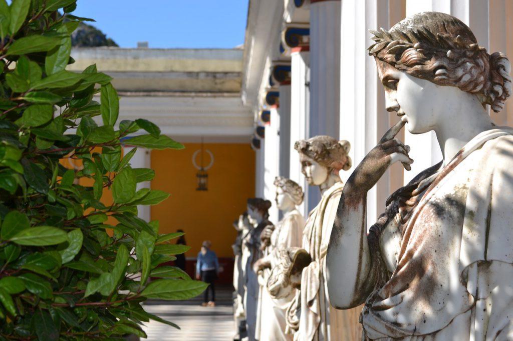 Korfu Achileono rūmai