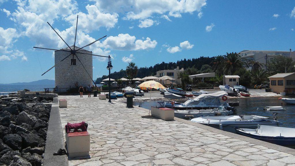 Korfu salos malūnas