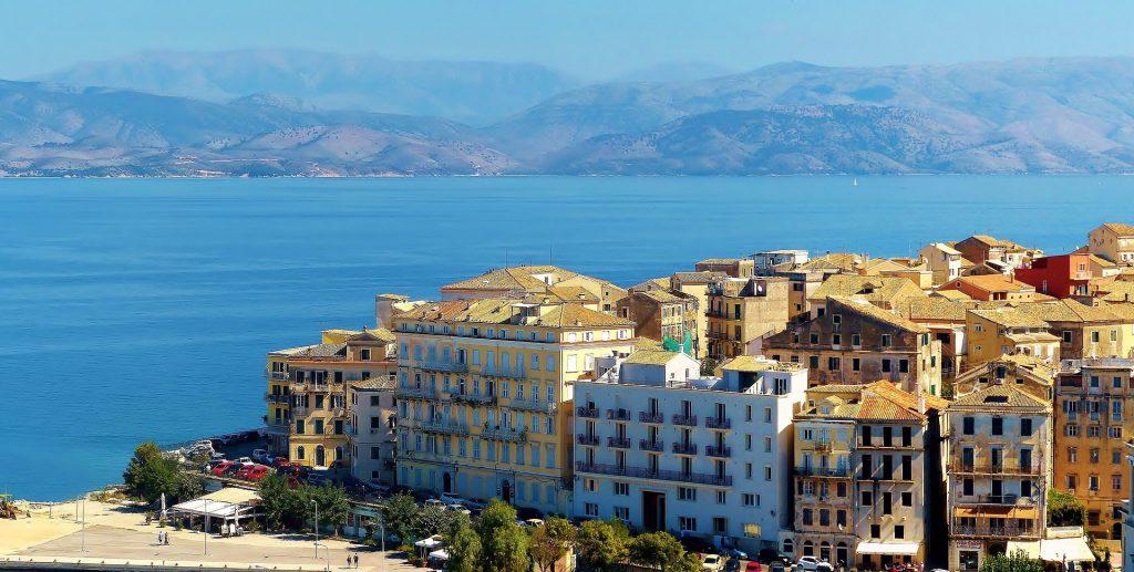 Korfu salos sostinė